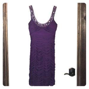 Cache' Purple Dress